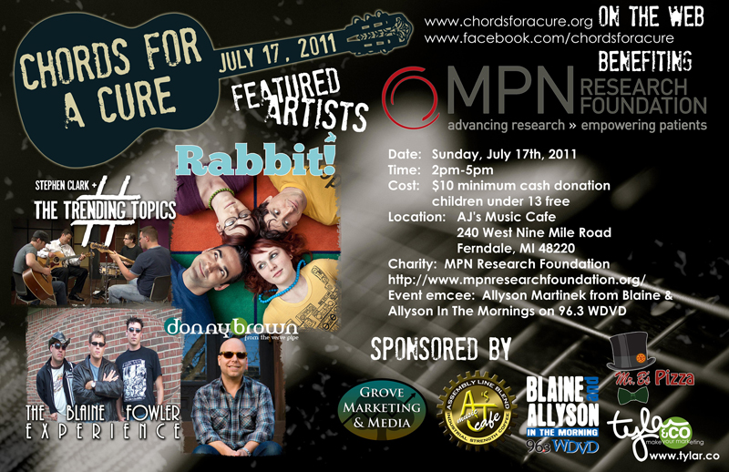 Chords For A Cure – July 17, 2011